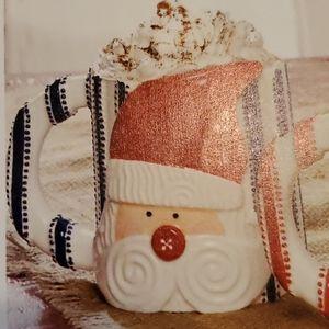 🎅 Santa 🎅 Ticking Blue Stripe Mug